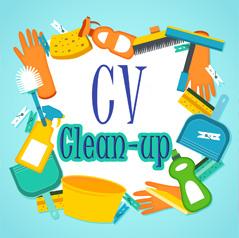 CV Clean-up