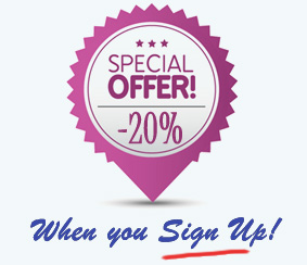Sign Up or Log In For 20% Discount